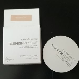 Bareminerals blemish rescue loose powder foundaton